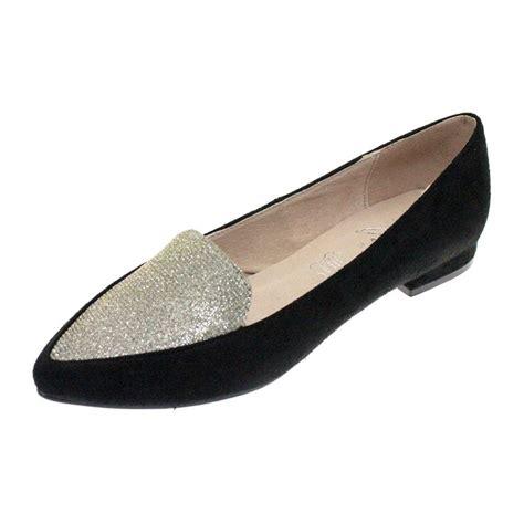 Two Tone Pumps caesar flc012 black two tone shoe