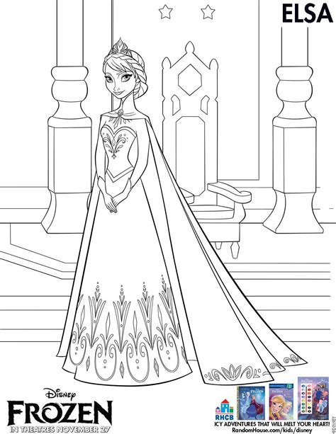 Free Disney Frozen Coloring Sheets And Activities I Am A Disney Frozen Coloring Pages For Elsa Free