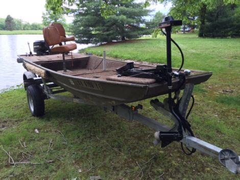 used 18 foot jon boats for sale 16 foot jon boat craigslist bing images