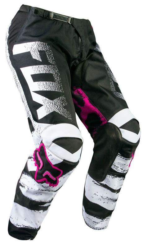 Motocross Motorrad Pink by Fox Girls Cross Hose 180 Black Pink 2015 Racewear For