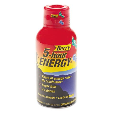 z pack and energy drinks 5 hour energy energy drink berry 1 93oz bottle 12 pack
