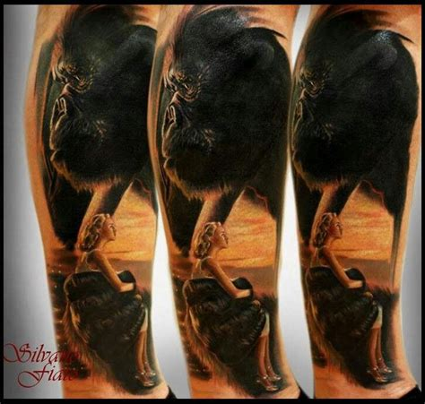 king kong tattoo king kong by silvano fiato ink
