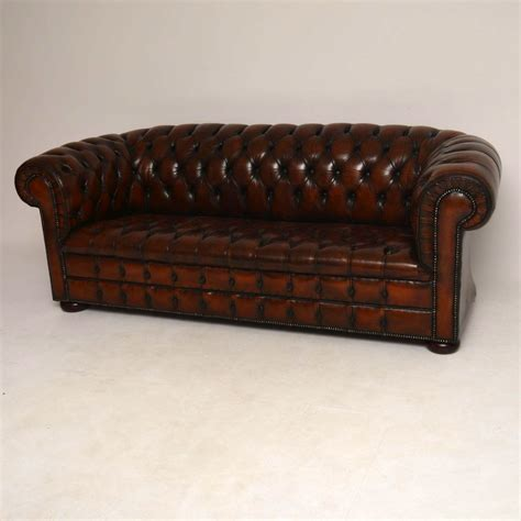 Antique Leather Chesterfield Sofa Antique Leather Chesterfield Sofa Marylebone Antiques Sellers Of Antique Furniture