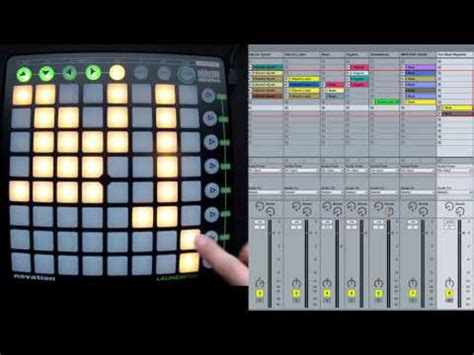 Launchpad Drum Rack by How To Use User 1 Mode Novation Launchpad Drum Ra