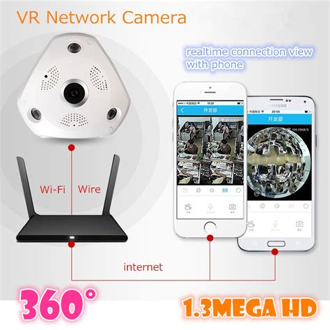 360 Degree 4 Mode Live Vr Ip Cctv 3d 960p 13mp 1 360 degree vr v380 wireless ip 960p hd wifi mega p2p alarm onvif free app network ir cut