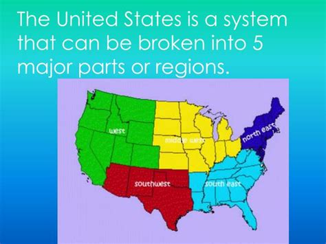 map of the united states broken into regions lessons on united states regions pictures to pin on