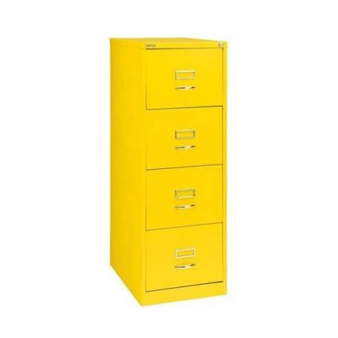 Yellow Filing Cabinet Uk Glo By Bisley Bs4c Filing Cabinet 4 Drawer H1321mm Yellow Bs4c Yellow