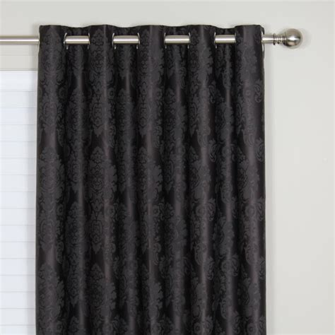 damask curtains black damask curtains black home design ideas how to choose
