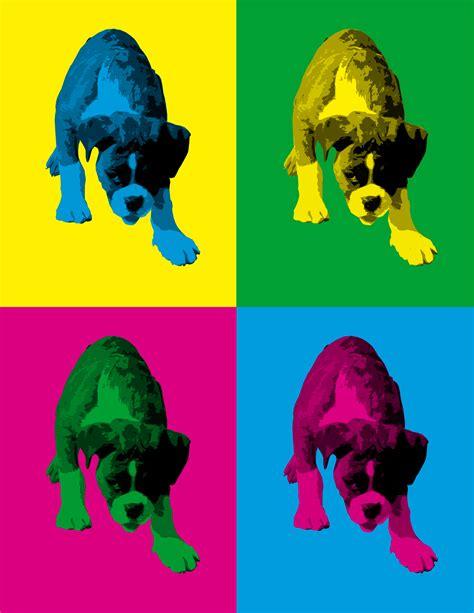 create andy warhol pop art online