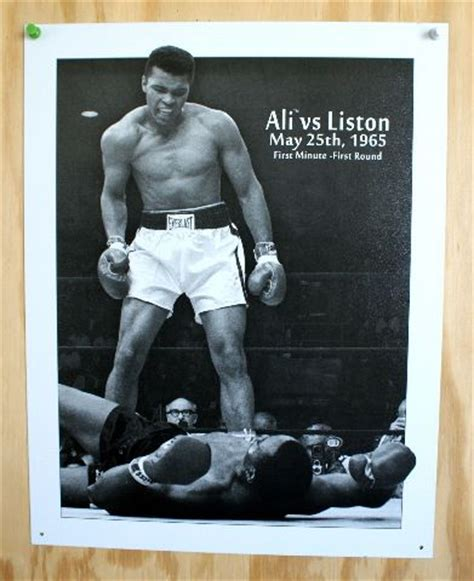 Chevrolet Trooper Mobil Argento Silver Series muhammad ali vs sonny liston tin sign cassius clay boxing