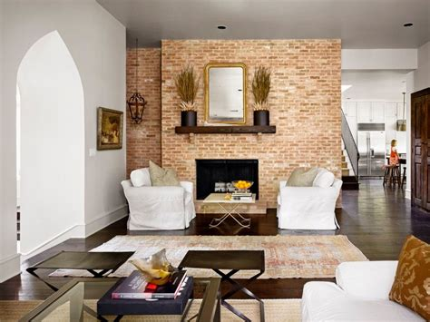 living room salon 29 eposed brick wall ideas for living rooms decor