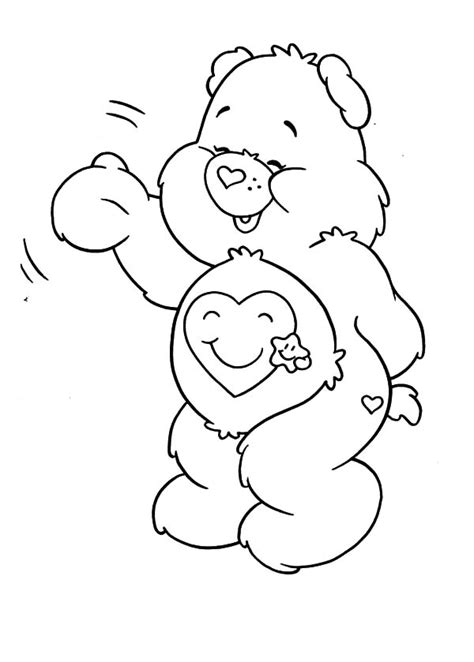 care coloring pages care bears coloring pages for best place to color