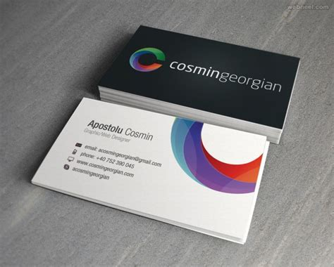 layout designs for business cards 50 creative corporate business card design exles