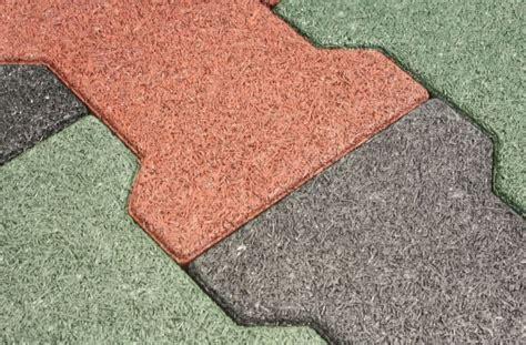piastrelle in gomma per esterno pavimenti in gomma per esterni pavimento da esterno