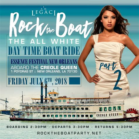 rock the boat white party rock the boat pt 2 the 2018 all white day time boat ride