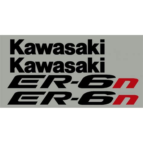 Aufkleber Kawasaki Er6f aufkleber f 252 r kawasaki er6n oder er6f jahr 2005 bis 2008