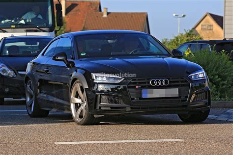 New Audi Rs5 2018 by 2018 Audi Rs5 Coupe Test Mule Spied In Audi S5 Coupe