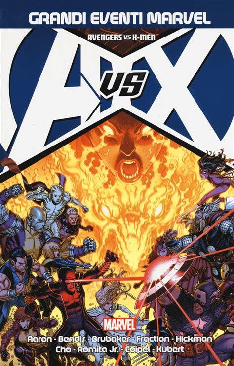 libro x men the road to libro avengers vs x men marvel omnibus lafeltrinelli