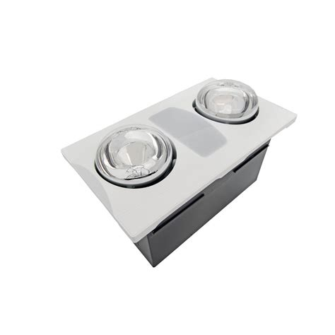 bathroom infrared heat l 2 80 cfm ceiling bathroom exhaust fan with light and