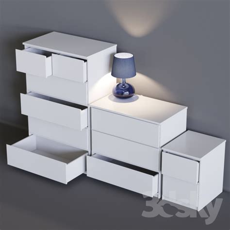 malm sideboard 3d models sideboard chest of drawer ikea malm