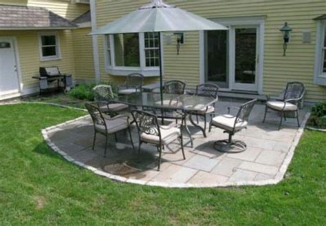 Small Flagstone Patio by Small Patio For The Home
