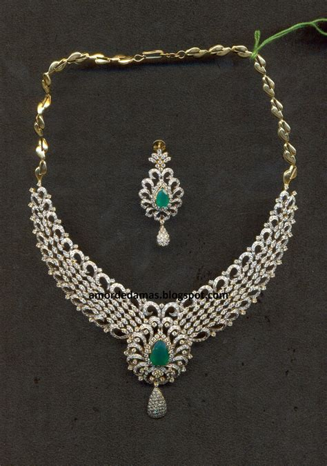 design diamond its all about jewellery diamond necklace designs