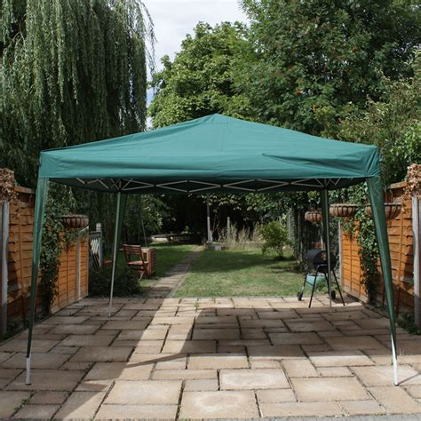 heavy duty gazebo canoup 3x3 green heavy duty pop up gazebo canopy garden