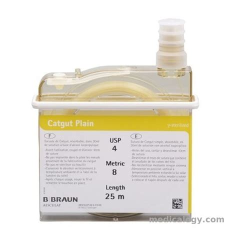 Alat Kesehatan Kateter Catgut Plain 4 0 1x150 Cm B Braun