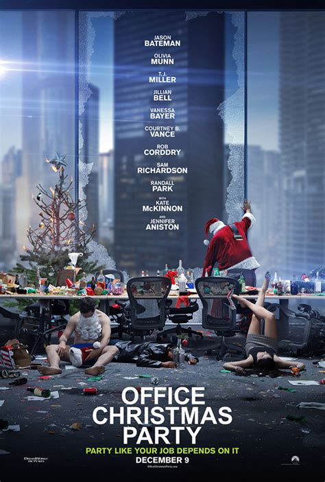 Office Christmas Giveaways - advance screening of office christmas party in south miami