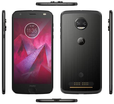 Moto Z2 Moto Z2 Leak Images Reveal Its Slim Design Dual