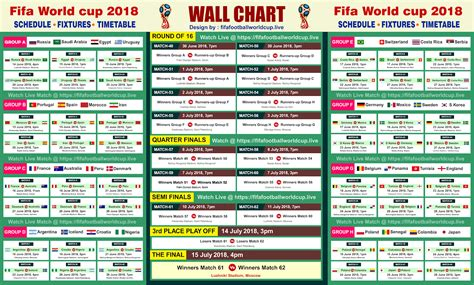 world cup 2018 schedule fifa world cup 2018 match schedule fixture in indian