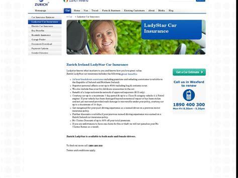 Zurich Car Insurance Ireland Car Insurance Quotes   Autos Post