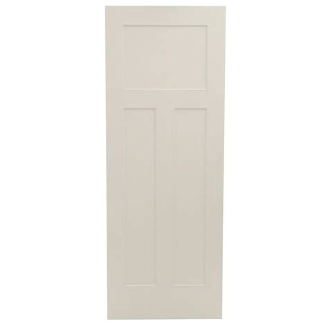 3 Panel Interior Doors Home Depot Home Depot Coupons For Jeld Wen 30 In X 80 In Craftsman Smooth 3 Panel Solid Primed