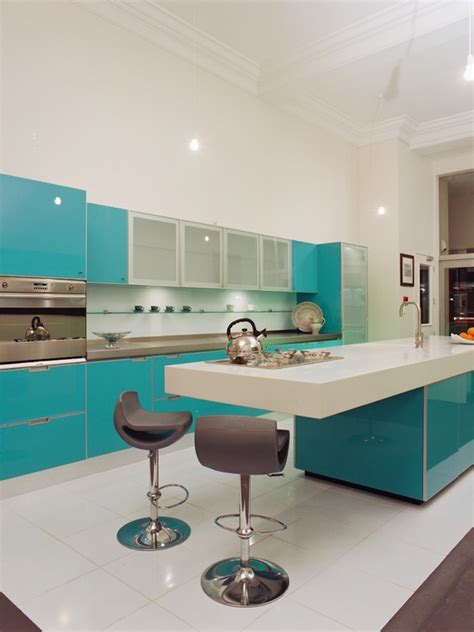 teal kitchen design home walls floors pinterest