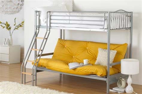 Metal Bunk Beds With Stairs Metal Futon Bunk Beds Wit Stairs Desk Slide Walmart
