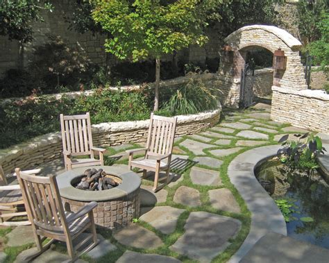 only for the flagstone ground cover idea backyard ideas