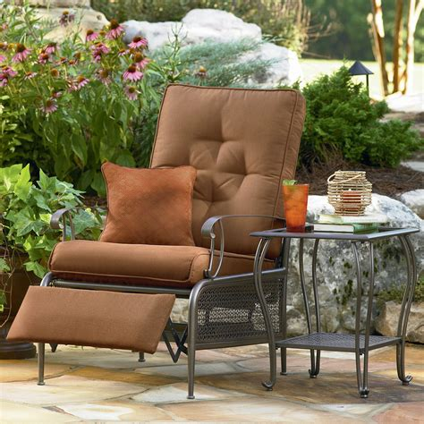 lazy boy riley recliner la z boy outdoor riley recliner shop your way online