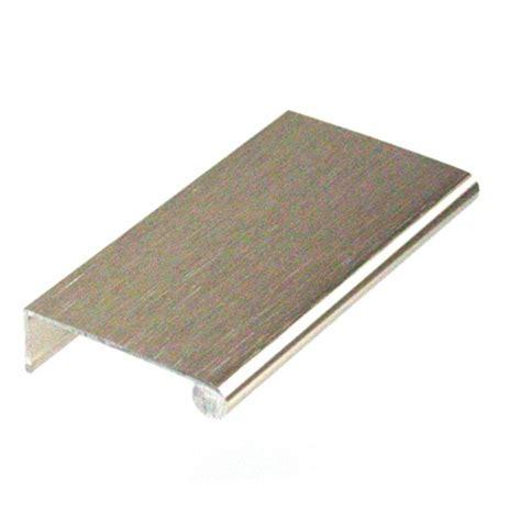 edge pulls for drawers edge pull dp41 l ss drawer door pulls aluminum