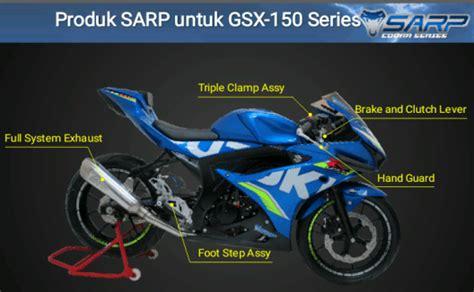 Programmable Ecu Racing Sarp Gsx R150 system exhaust gsx150cc p 244 ä á sarp cho suzuki gsx150 suzuki fi satria