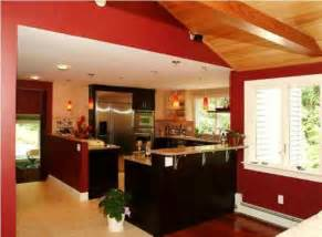 Red Kitchen Paint Ideas kitchen cabinet color decorating ideas beautiful homes design