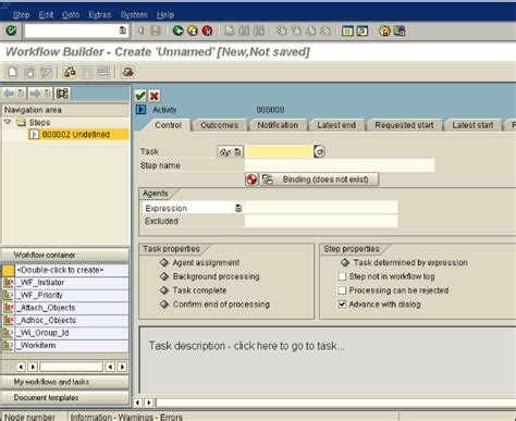 sap workflow task sap business creating workflows