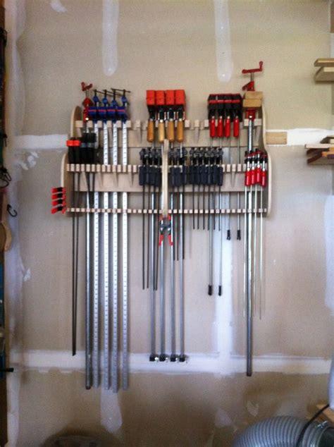 wall mounted clamp rack  grizzledbuckeye