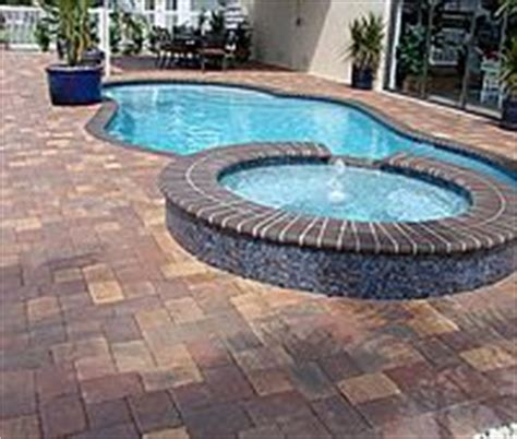paver brick pool deck with brown concrete and pavers 1000 images about brick pavers on pinterest clay pavers