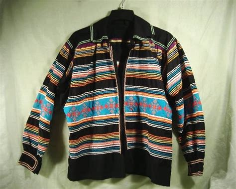 Seminole Patchwork Jacket - seminole indian jacket american patchwork rick rack
