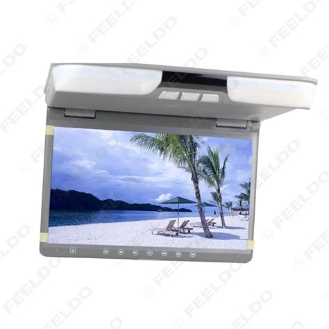 Lcd Monitor Roof feeldo car accessories official store car 15 6 quot roof mount lcd monitor with built in dvd
