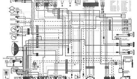 honda motorcycle cb400 hawk ii wiring diagram
