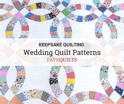 Keepsake Quilting: 13 Wedding Quilt Patterns   FaveQuilts.com