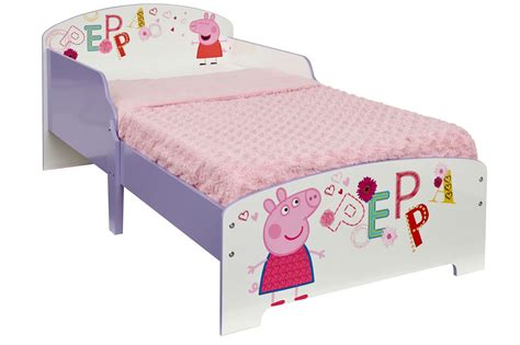 peppa pig toddler bedding peppa pig mdf toddler bed