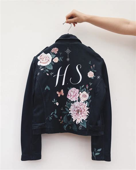 diy jackets 9 painted leather jackets that are wearable works of