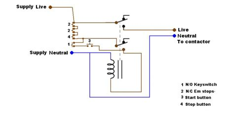 4 pole contactor wiring diagram float switch installation